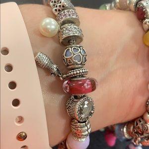 Authentic Pandora Bracelet w/charms